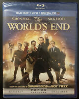 THE WORLD'S END New Sealed Blu-ray + DVD Simon Pegg Nick Frost Edgar Wright