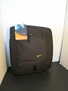 NWT Vintage 90s Nike & Mead 3 ring binder school Trapper Keeper Black Neon Green