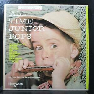 Various - All-Time Junior Pops LP VG- Hollywood Records LPH 117 USA rare cover