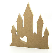 18mm MDF 20cm High Castle, Princess, Fantasy Wood Blank Shape M18030