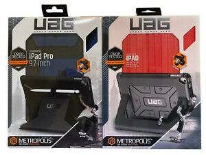 "UAG Metropolis Folio Case For iPad Pro 9.7"" iPad 5th & 6th Gen 9.7"" Blue Or Red"