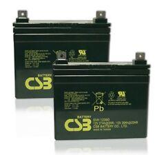 CSB/Hitachi EVH 12390 12V 39AH U1 DeepCycle AGM Solar Battery 33,34,35a (2) Pack