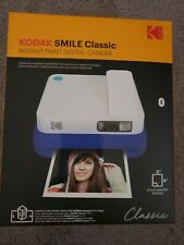 KODAK SMILE Classic INSTANT PRINT Digital Camera BLUE Stick BK Photos SEALD NIB