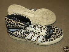 GREAT Adidas Jeremy Scott leopard blinged basketball shoes mens 7