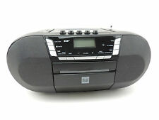 Dual DAB-P 200 Radio Boombox DAB+ Digitalradio Kassette CD USB schwarz *B-Ware*