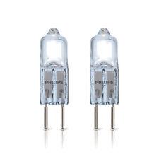 2 x Philips GY6,35 Halogen Stiftsockellampe 50W 12V klar Halogenlampe Brilliant