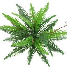 Green Imitation Fern Bouquet Plants Fake Persian Leaves 30-Leaf Home Decor
