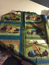 1 52x22 Standard Daycare cot sheet 1 golf and tennis bears print