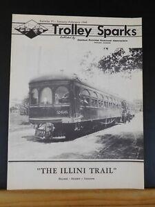 Trolley Sparks #77 Jan-Feb 1948 CERA Illini Trail
