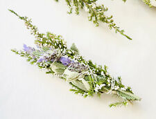 🌲Wild & Organic Cedar JERUSALEMS WHITE  SAGE/ Lavender &Erica Flowers/ Smudge