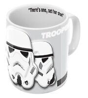 STAR WARS Tasse Stormtrooper Relief 3D Star Wars Kaffeetasse Mug Becher