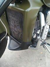 Suzuki M1800R INTRUDER M109R  VZR1800 (2006-2019) Black Radiator Grill Skull