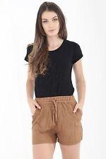 Mujer Corto Verano Ropa Shorts Casual GB Talla 10 12 14 16 18