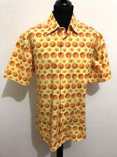 HUGO BOSS VINTAGE '80 Camicia Uomo Cotone Cotton Man Shirt Sz.XL - 52
