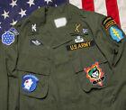 Внешний вид - Vietnam War US Army TCU Patch MAAG CCS Jungle Expert M65 og107 Jacket Patches