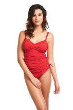 Haut maillot de bain FANTASIE TANKINI contrôle 90DD versailles rouge ENVOI 48H