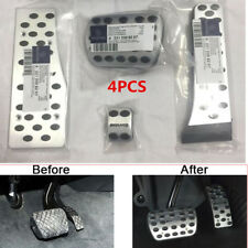 AMG Alloy Pedal Covers Fit For Mercedes Benz A E C S GLK CLK SL W203 W204 W212