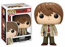 "DEATH NOTE LIGHT 3.75"" POP VINYL FIGURE FUNKO 216 POP ANIMATION SHONEN JUMP"