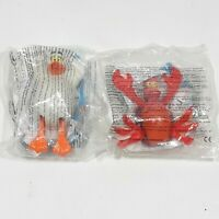 VINTAGE MCDONALDS HAPPY MEAL TOYS LITTLE MERMAID 1998 SCUTTLE CRAB NEW SEALED