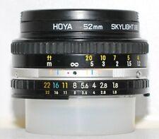 Nikon AIS Nikkor S.E. 50mm f/1,8; Version II spät / late' 'Pancake', Top Zustand