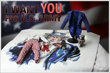 NEW MiVi : I WANT YOU Uncle Sam USA Uncle Sam 1/6 Figure