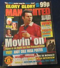GLORY GLORY MAN (MANCHESTER) UNITED MAY 1998 - MOVIN' ON