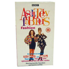 RARE VHS Video Tape ABSOLUTELY FABULOUS Episode 1 Fashion AB FAB BBC TV Comedy