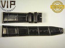 NEW OEM Authentic IWC SANTONI strap 22 mm alligator IWA54580 BLACK