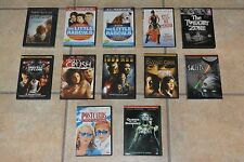 12 Mixed DVD LOT Some SEALED Little Rascals Iron Man Cherry Crush PostCards saw