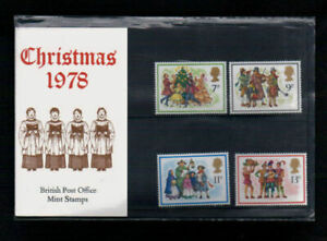 GB 1978 Christmas Presentation Pack VGC. Stamps.