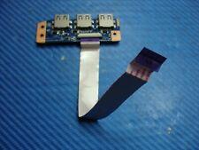 "Sony Vaio 14"" SVE14112FXP Genuine Laptop USB Board w/Cable DA0HK6TB6F0 GLP*"
