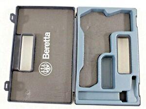 Beretta Series 92? Pistol Gun Factory Blue Plastic Storage Carry Case Box Italy