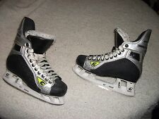 GRAF SUPRA 735 ICE HOCKEY SKATES MEN SIZE 5.0 -5-1/2 NICE USED CONDITION QUALITY