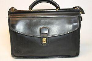 Coach Lenox Vintage 1998 Leather USA Made Briefcase Bag M8C-5213