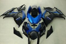 Blue and black colors ABS Fairing for suzuki GSXR600/750 06-07 ABS Kit 2006 2007
