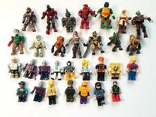 Mega Bloks mini figure and other mixed figures lot- See photos