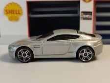 2008 Hot Wheels Aston Martin V8 Vantage Metalflake Silver All Stars