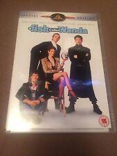 A Fish Called Wanda (DVD, 2-Disc Set) john cleese, jamie lee curtis, uk dvd