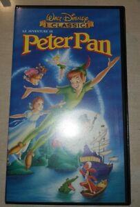 LE AVVENTURE DI PETER PAN 1998 i classici Disney UNIVIDEO vhs '74