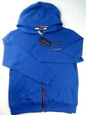 Tommy Hilfiger Junior Blue Zip Up Hooded Sweatshirt...