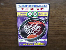 Tell Me Why - Customs  Superstitions/ Sports  Games (DVD, 2003)