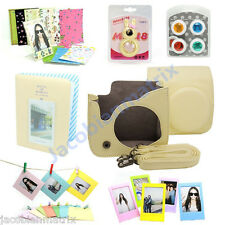 Gmatrix Fujifilm Instax Mini 8 Case Bag Accessory Bundle Set Best Gift yellow