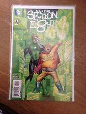 All Star Section Eight 8 #2 (DC Comics, Sept 2015)