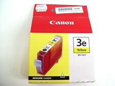 CANON BCI-3EY GENUINE YELLOW 3EY INK CARTRIDGE IP3000 4000 I850 I550 5000 MP780