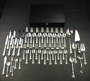 REED /& BARTON Sterling Silver TARA Pattern 4 Piece Place Setting