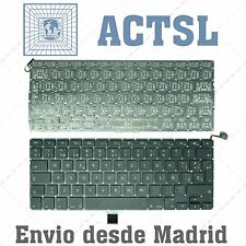 "Spanish Keyboard for Apple MacBook Pro 13"" A1278 MB467 MC374 2009-2012 QWERTY"