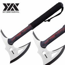 Dzs Zombie Killer Survival Cutting Camping Tomahawk Throwing Axe Hatchet Knife