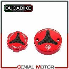 Tappi Serbatoio Liquid Rosso TLS01A Ducabike Ducati Hypermotard 1100 2007 > 2009