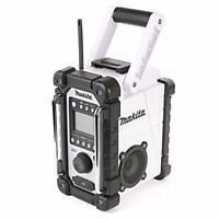 Makita Rugged CXT LXT Job Site Radio, Battery / Mains Powered Slide Battery Fits