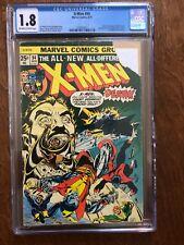 X-Men #94 (1975) CGC 1.8 GD- (Deslabbed) Claremont • Cockrum